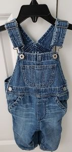 Gap baby denim overalls